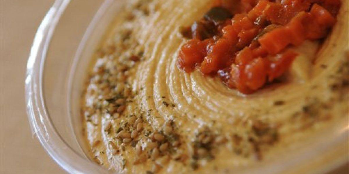 Retiran algunas variedades de hummus