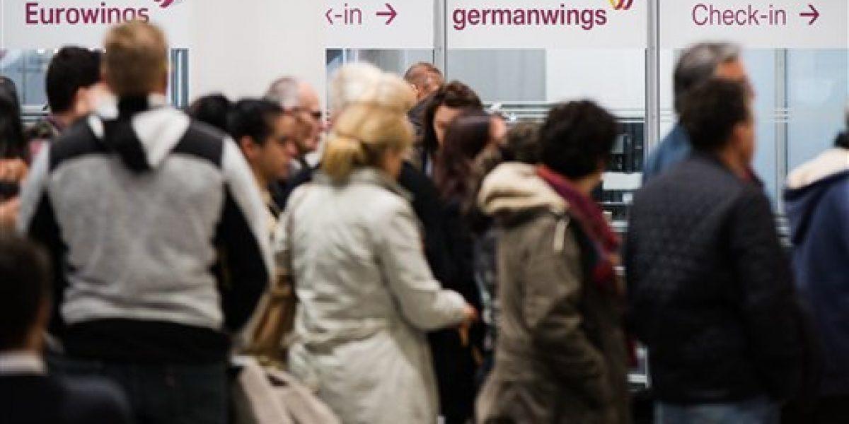 Huelga de Eurowings causa estragos en Alemania