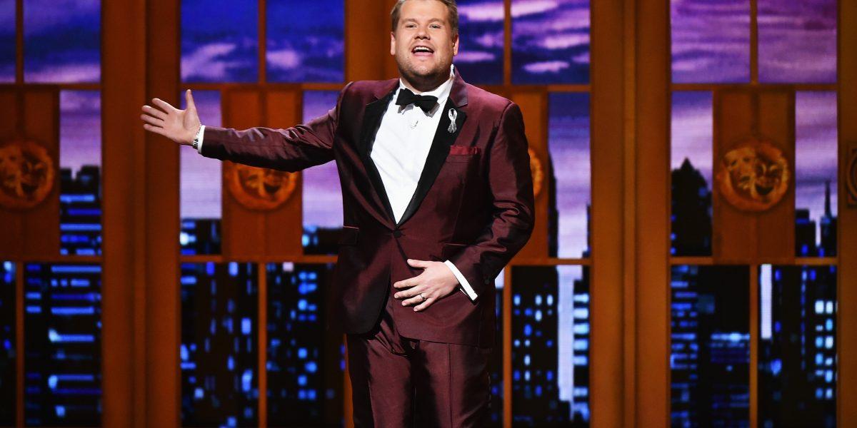 James Corden presentará la 59 edición de los Grammy