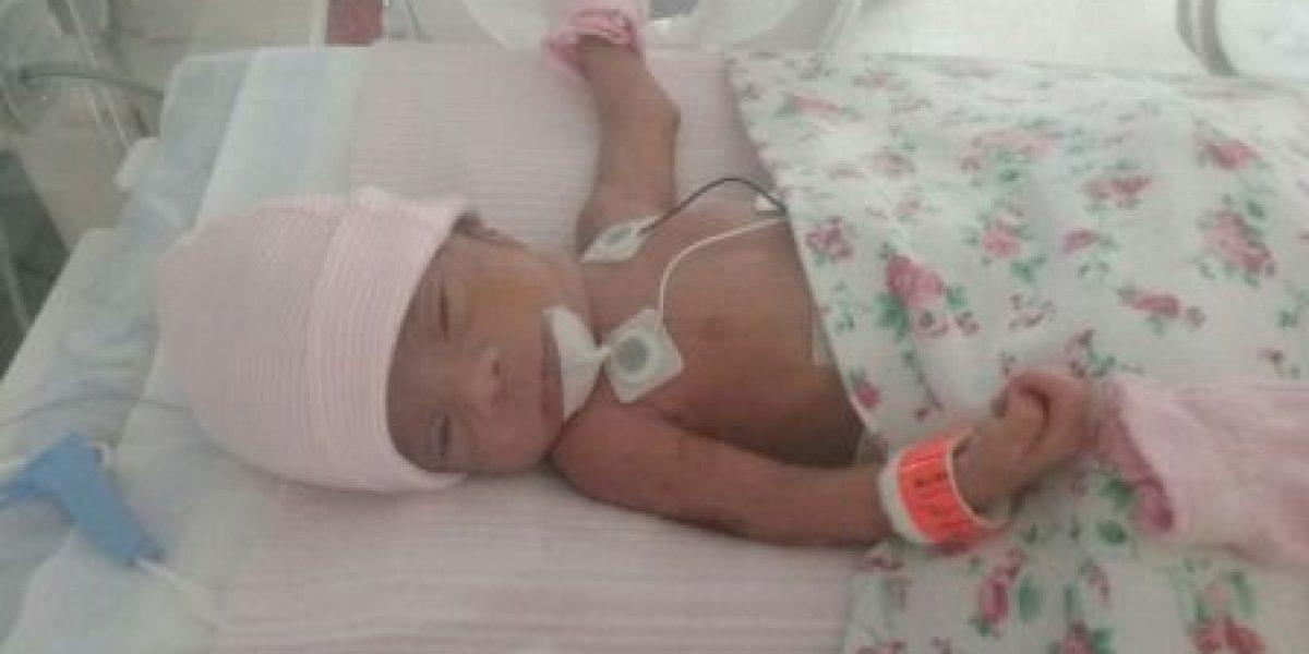 Solicitan plaquetas para bebé de 13 días