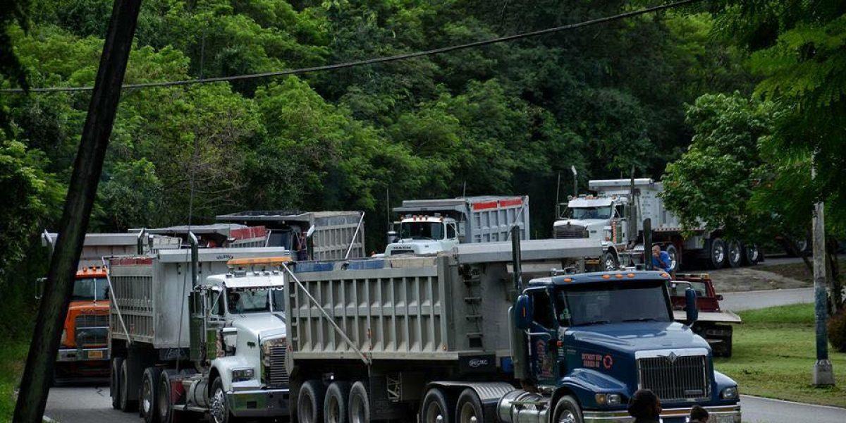 Advierten camiones de AES reanudarán traslado de cenizas
