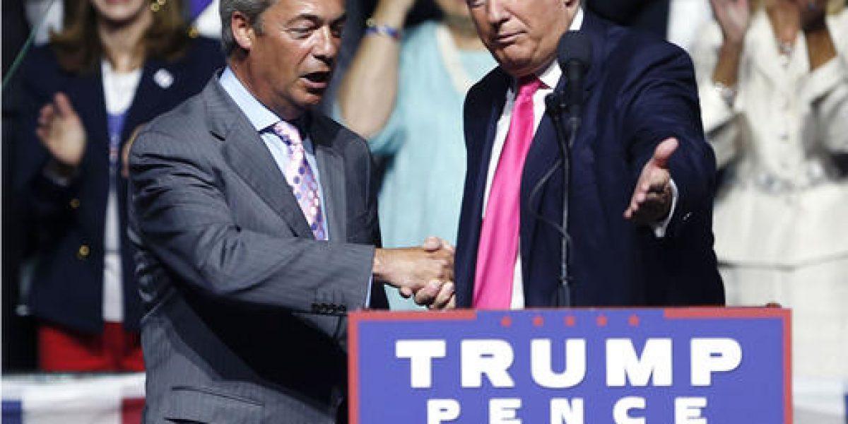Farage ve sismo político en el país si se demora el Brexit