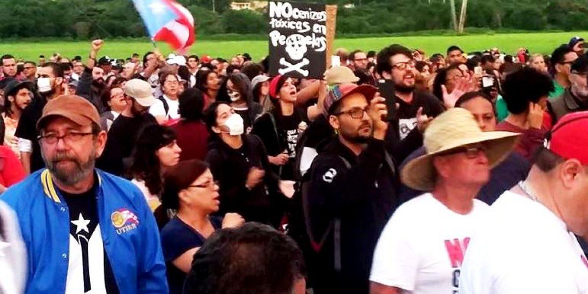 Educamos también llama a sumarse a protestas por depósito de cenizas en Peñuelas