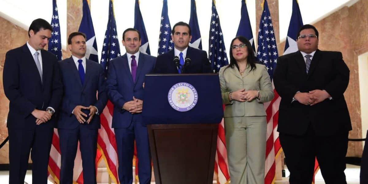 Ricardo Rosselló anuncia primeros nombramientos a su gabinete