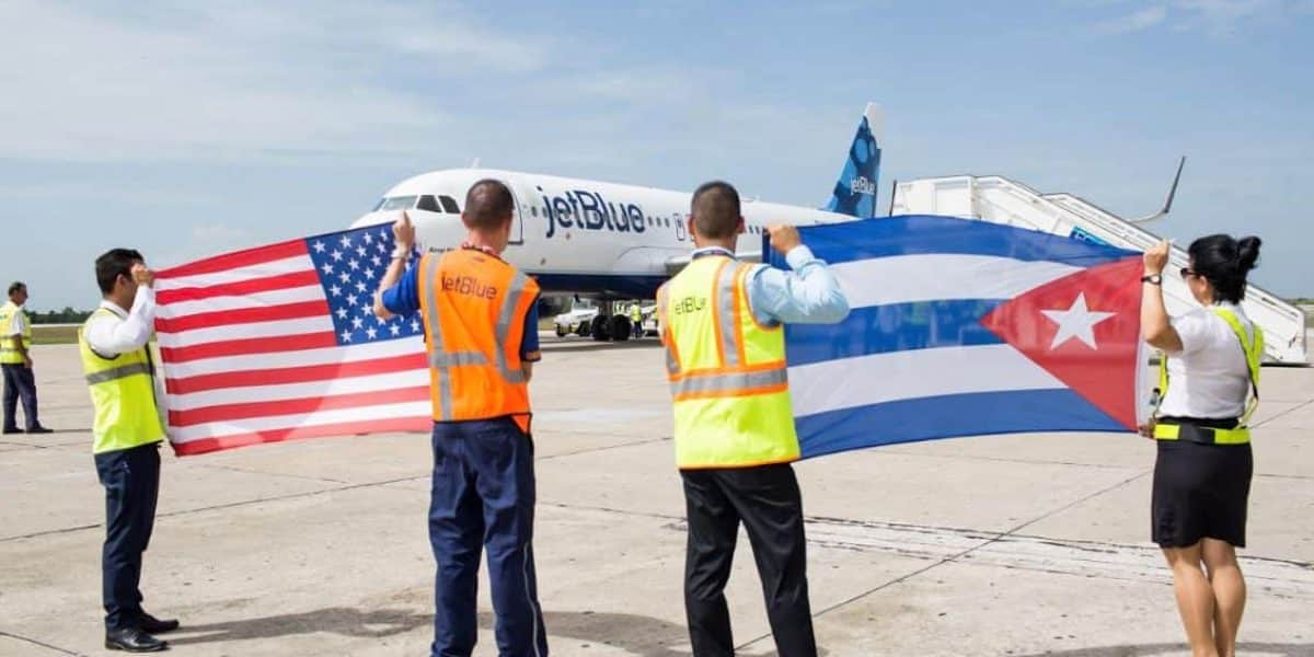 Jet Blue inicia servicios en Cuba