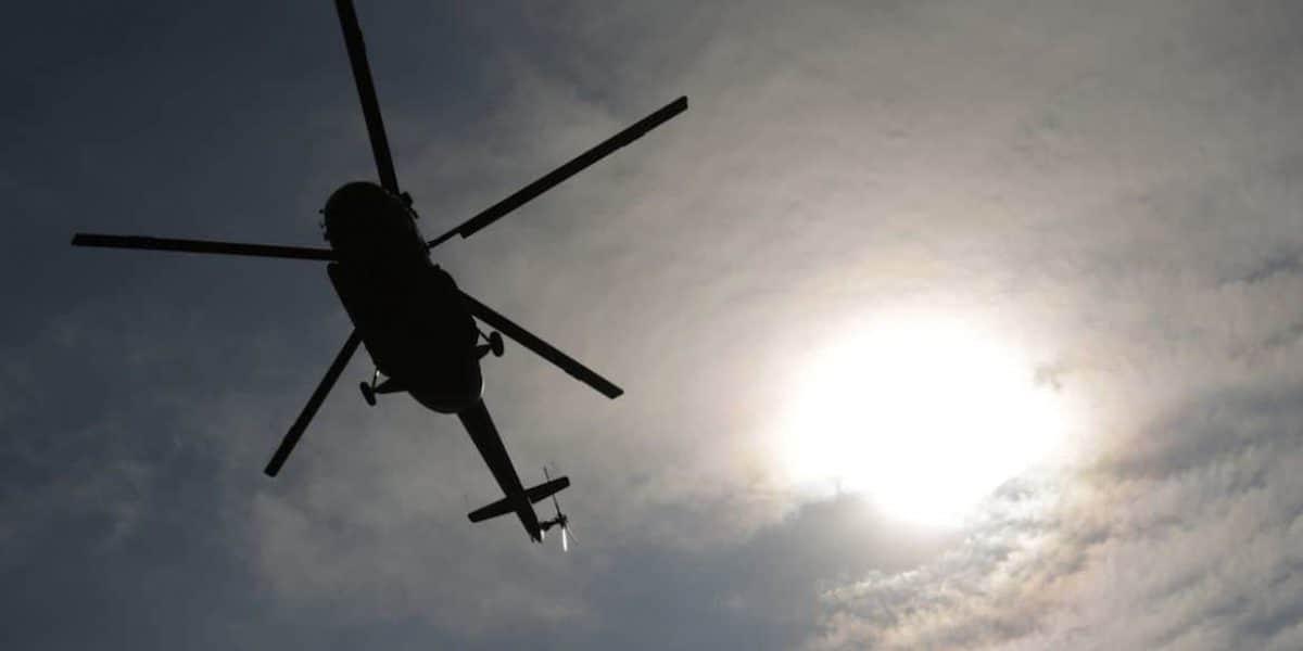 Cae al mar helicóptero con tripulantes en R.D.