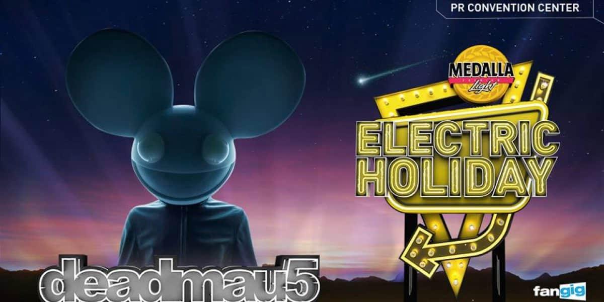 Gana boletos para el Electric Holiday