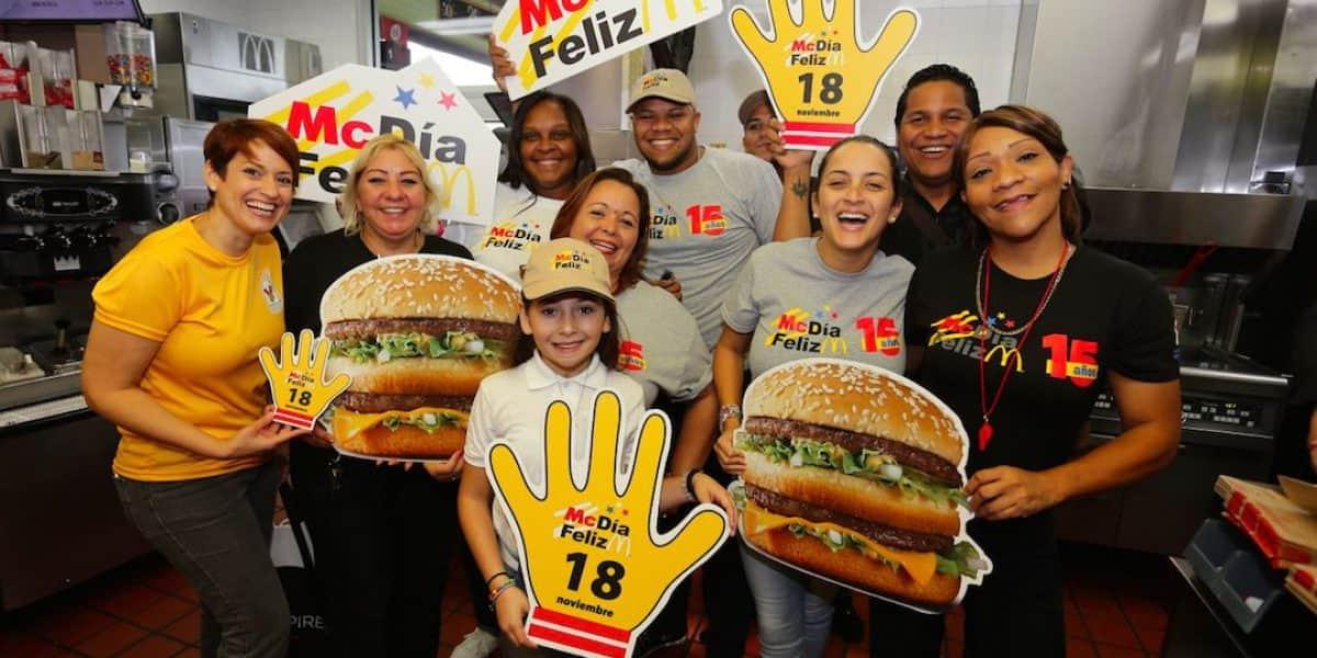 McDía Feliz recauda meta establecida con venta de sobre 25,500 Big Macs