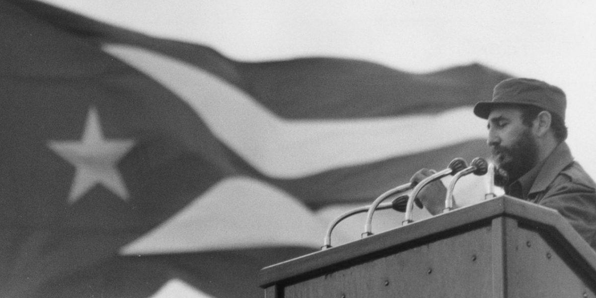 Traslado de las cenizas de Fidel Castro
