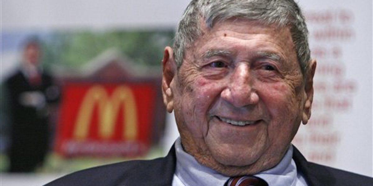 Fallece creador del Big Mac