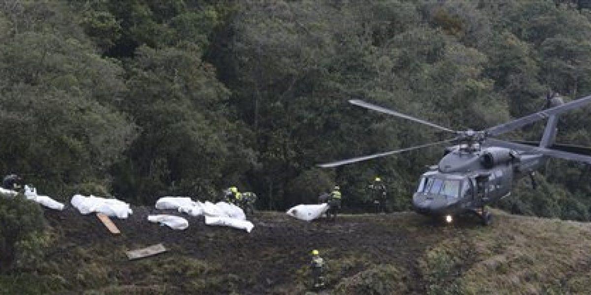 Piloto avión estrellado en Colombia: se agotó el combustible