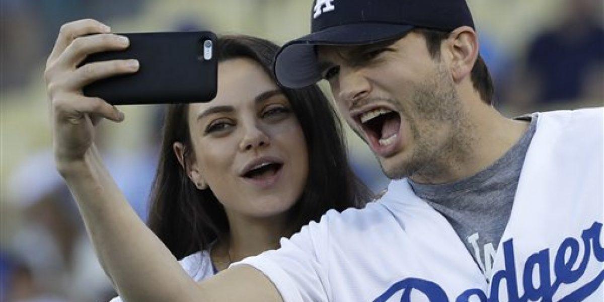 Ashton Kutcher y Mila Kunis revelan nombre de su bebé