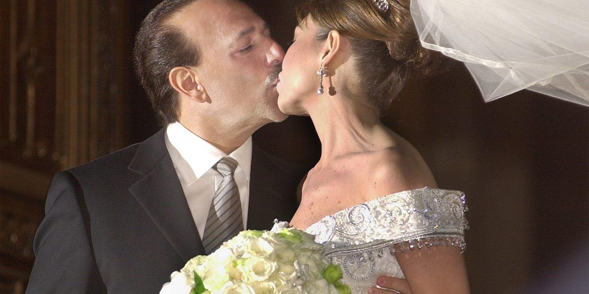 Thalía y Tommy Mottola celebran su aniversario de bodas.