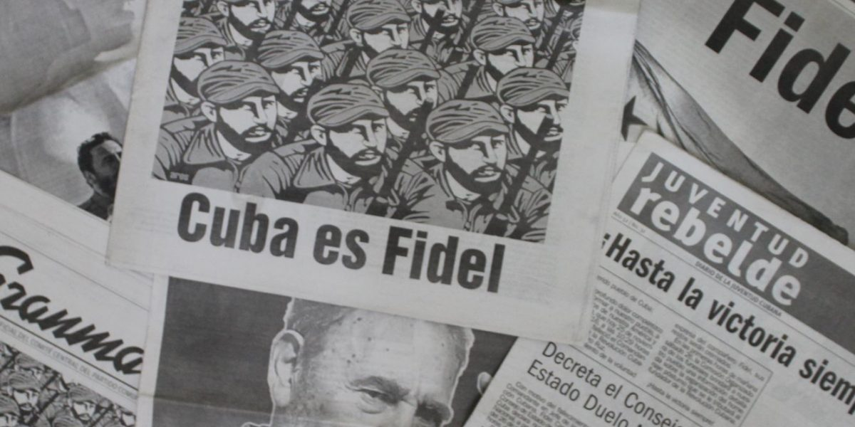 Prensa cubana se desborda en tributo a Fidel