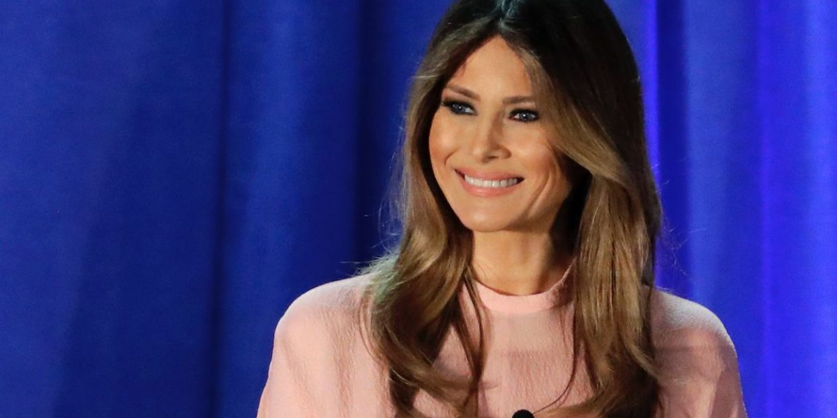 Melania Trump sería marca registrada en su natal Eslovenia