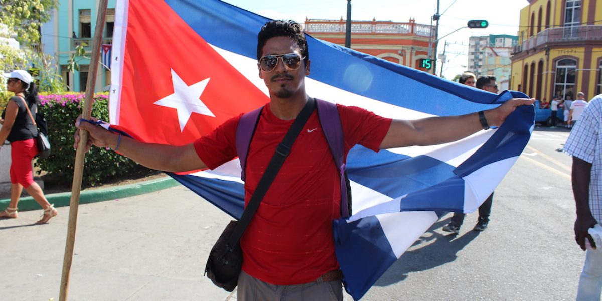 Santiagueros lloran a Fidel Castro