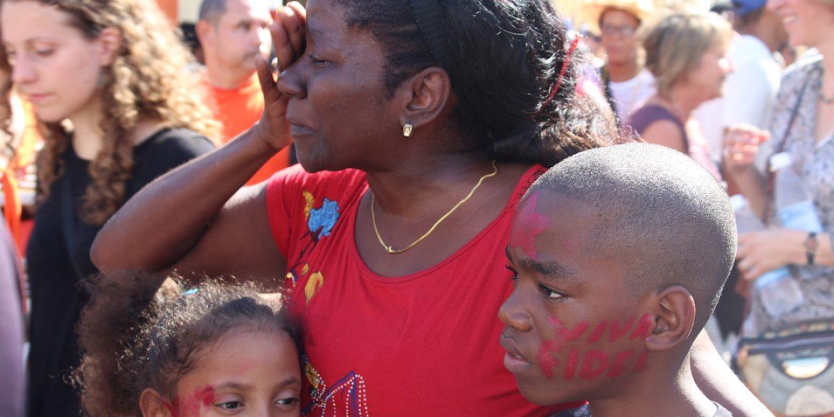 Fotos: Así se vivió la llegada de las cenizas de Fidel Castro a Santiago, Cuba