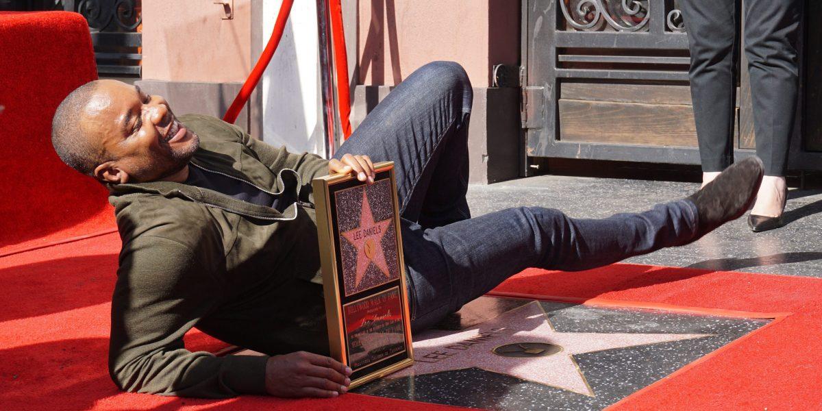 Lee Daniels recibe su estrella en el Paseo de la Fama de Hollywood
