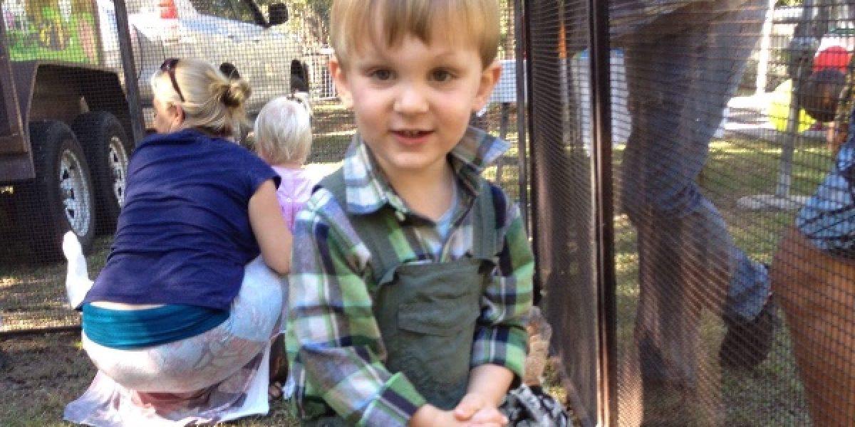 Niño que quedó ciego por una mordida de serpiente muestra milagrosa mejoría