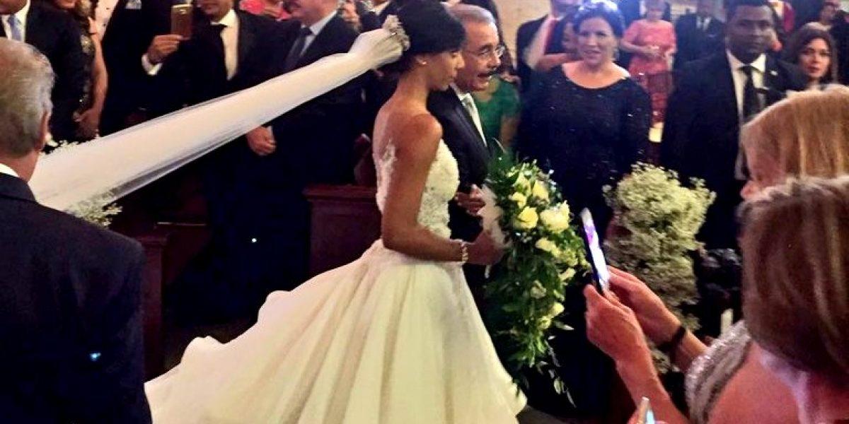 Se casa una de las hijas del presidente de República Dominicana