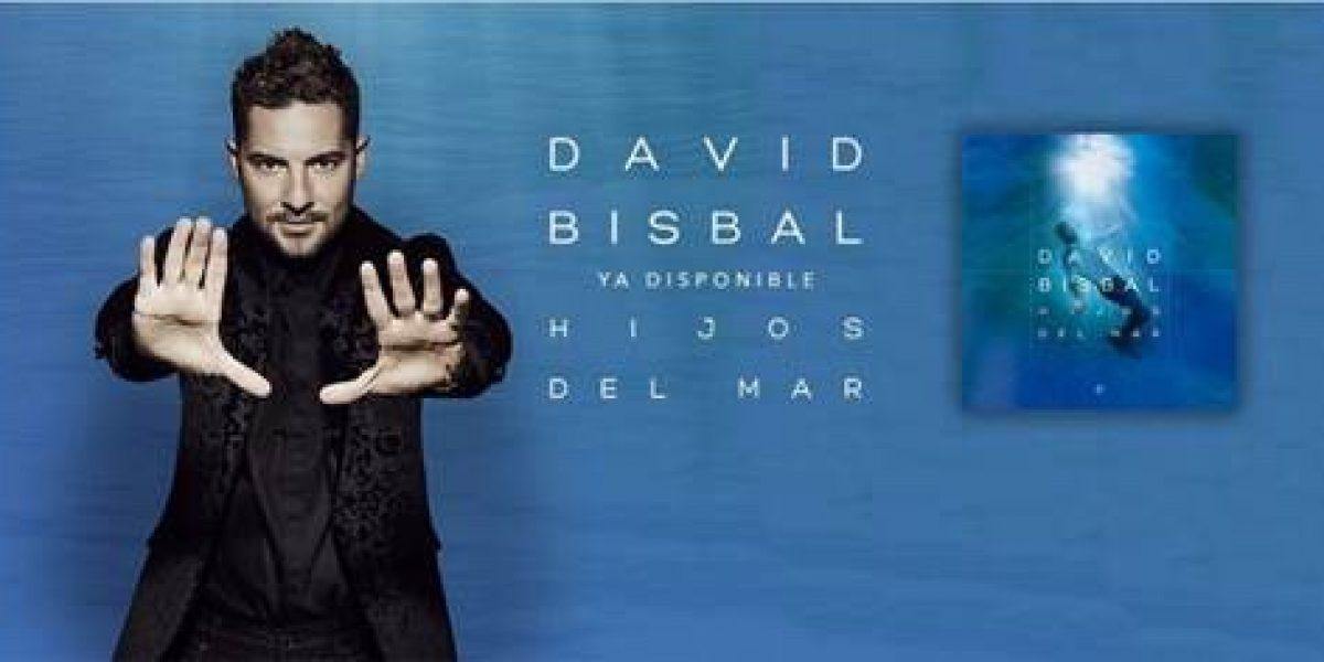 """David Bisbal presentará su disco """"Hijos del mar"""" en Mall of San Juan"""