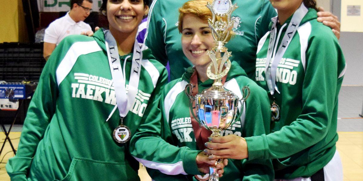 Colegio de Mayagüez obtiene bronce en damas y varones en el taekwondo