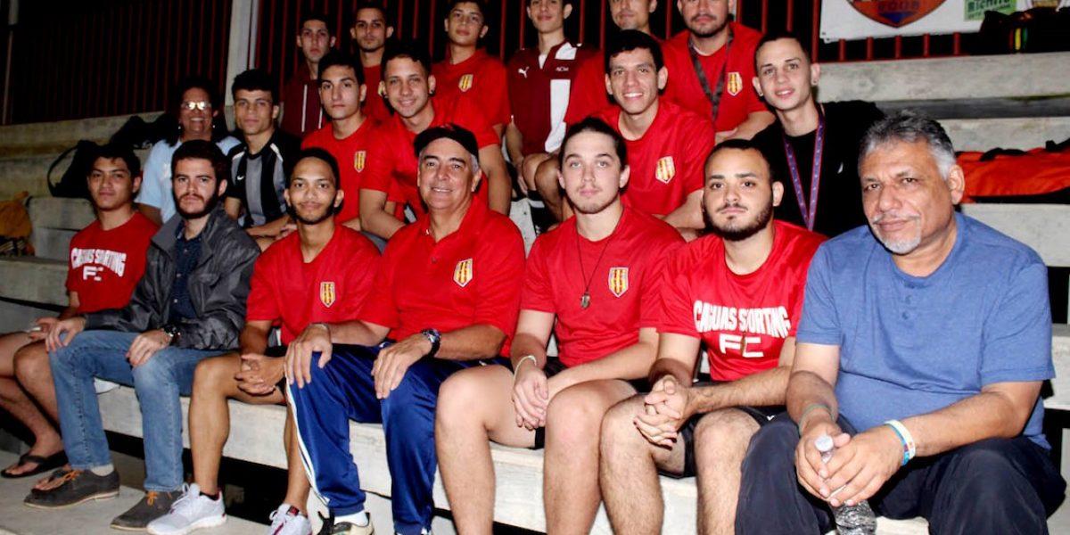 Caguas Sporting presenta a su nuevo director técnico