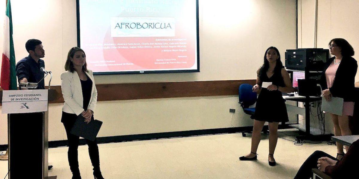 Estudiantes de la UPR en Cayey presentan hallazgos en investigaciones de proyectos de profesores
