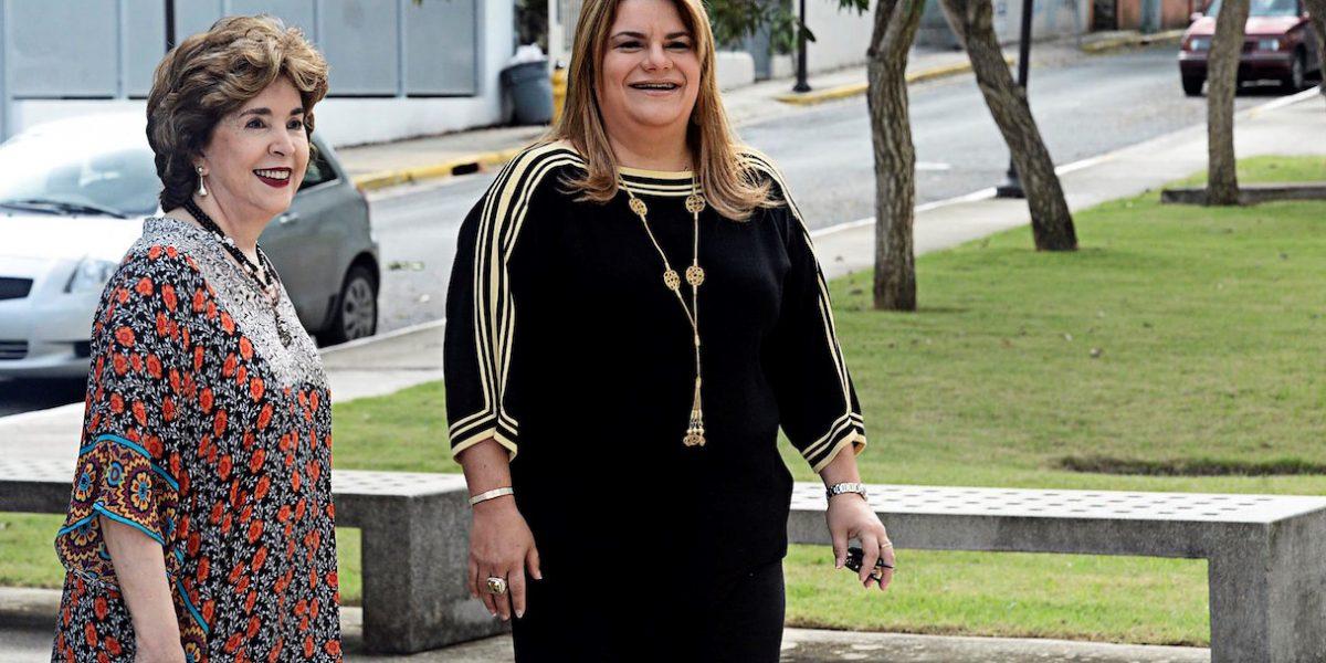 Jenniffer González se reúne con mujeres empresarias en la Fundación Sila M. Calderón