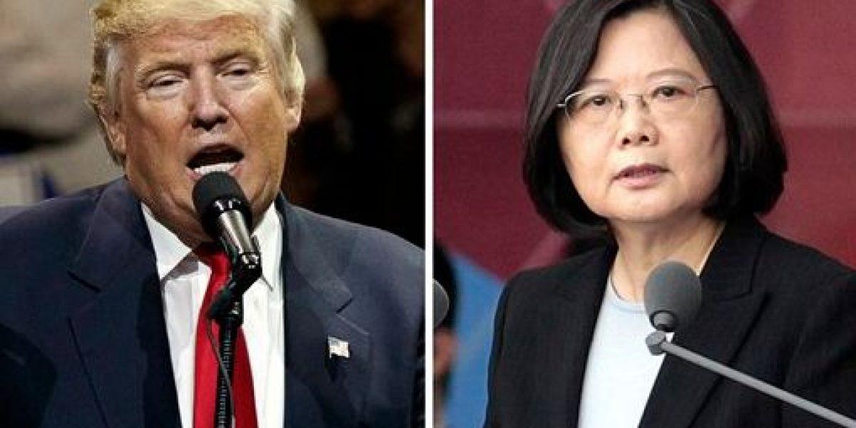 Llamada de Trump da esperanza en Taiwán, preocupa en Beijing