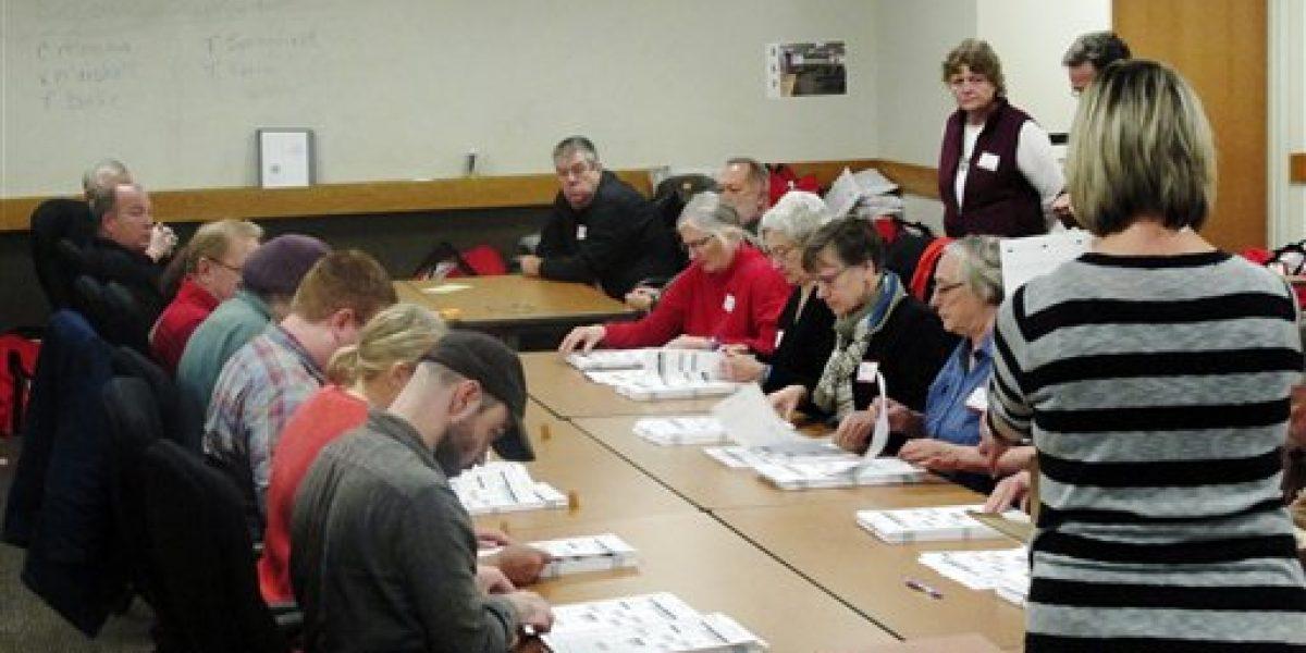 Recuento de votos se enfoca en Michigan y Pennsylvania