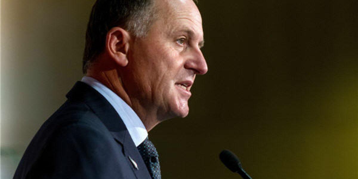 Renuncia primer ministro de Nueva Zelanda luego de ocho años