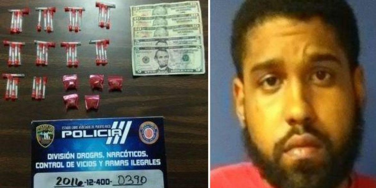 Arrestado por drogas en Ceiba