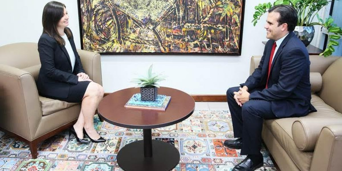 Rosselló Nevares se reúne con jueza presidenta