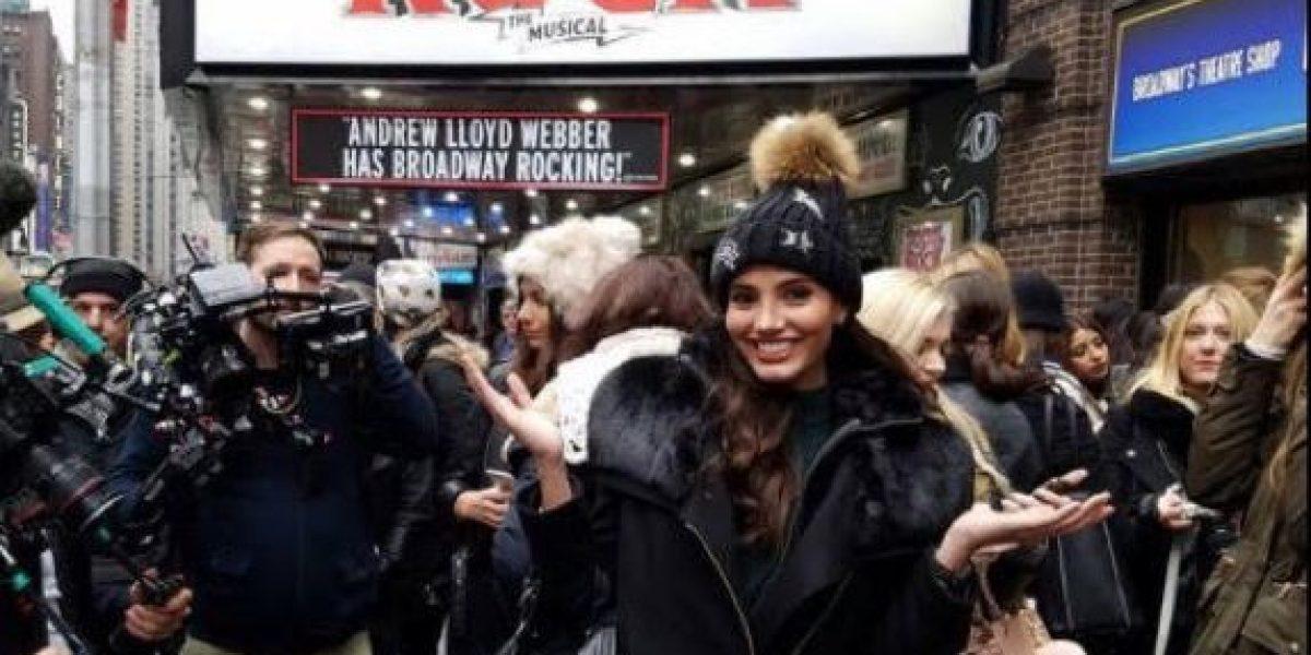 Candidatas de Miss Mundo 2016 se pasean por Nueva York