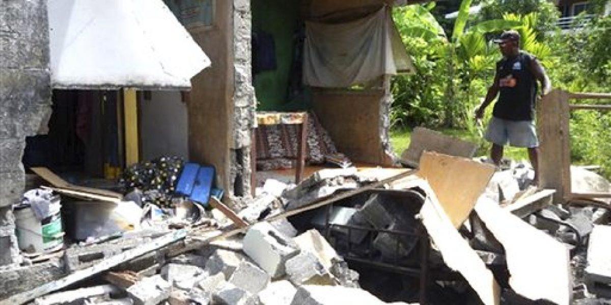 Sismo afecta a cientos de personas en las islas Salomón