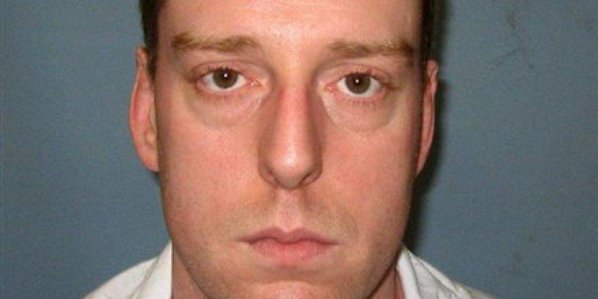Preso de Alabama tose y se agita durante ejecución