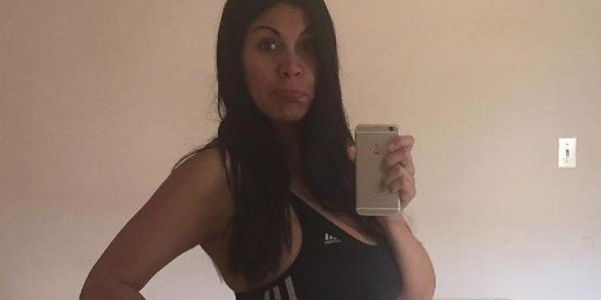 Saritza deja ver su panza