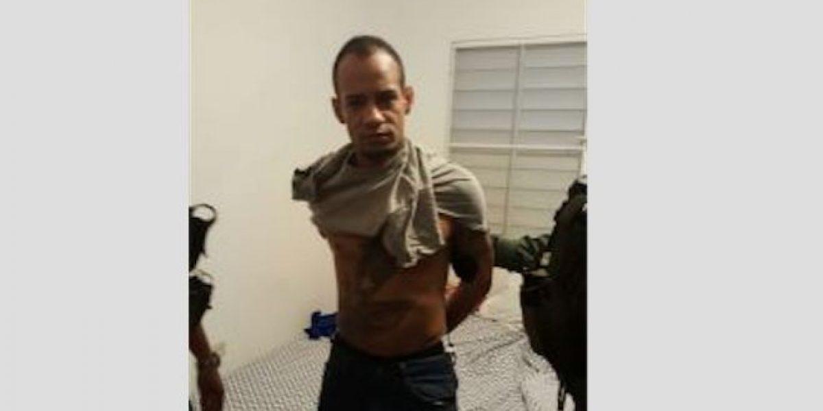 Autoridades arrestan confinado evadido