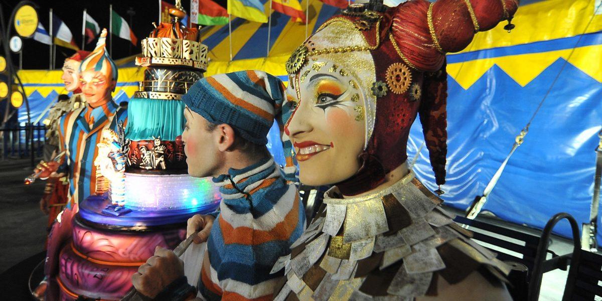 Un colombiano y un español aportan cuota iberoamericana al Cirque du Soleil
