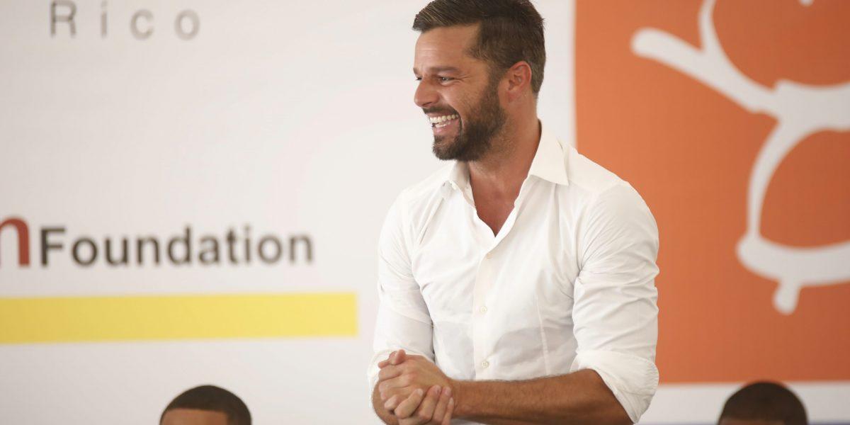 Ricky Martin envía buenas vibras #LosNuestros