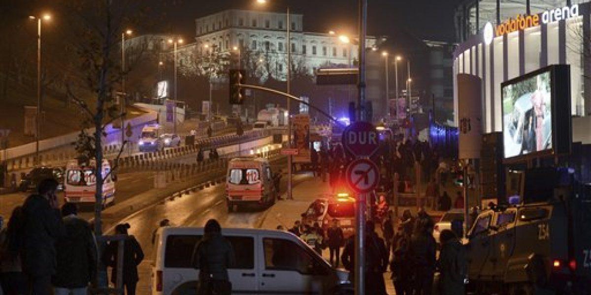 Explosiones cerca de estadio de Besiktas dejan 15 muertos