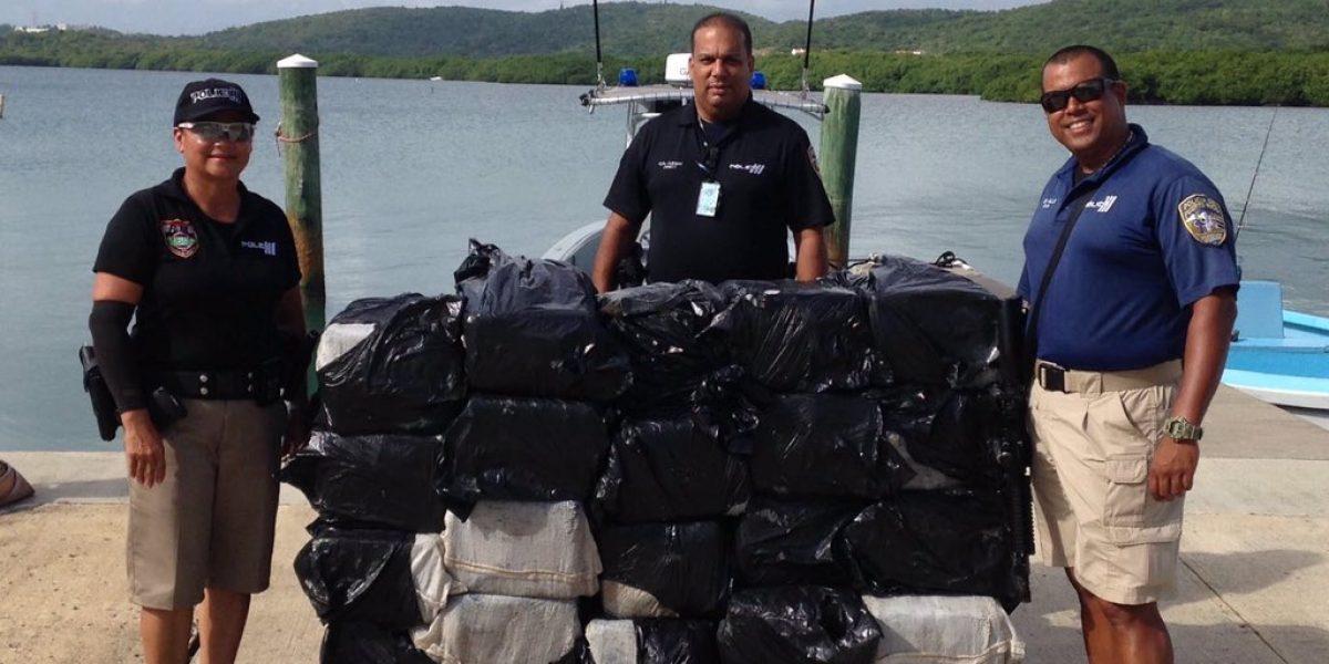 Incautan millonario cargamento de cocaína en Ceiba
