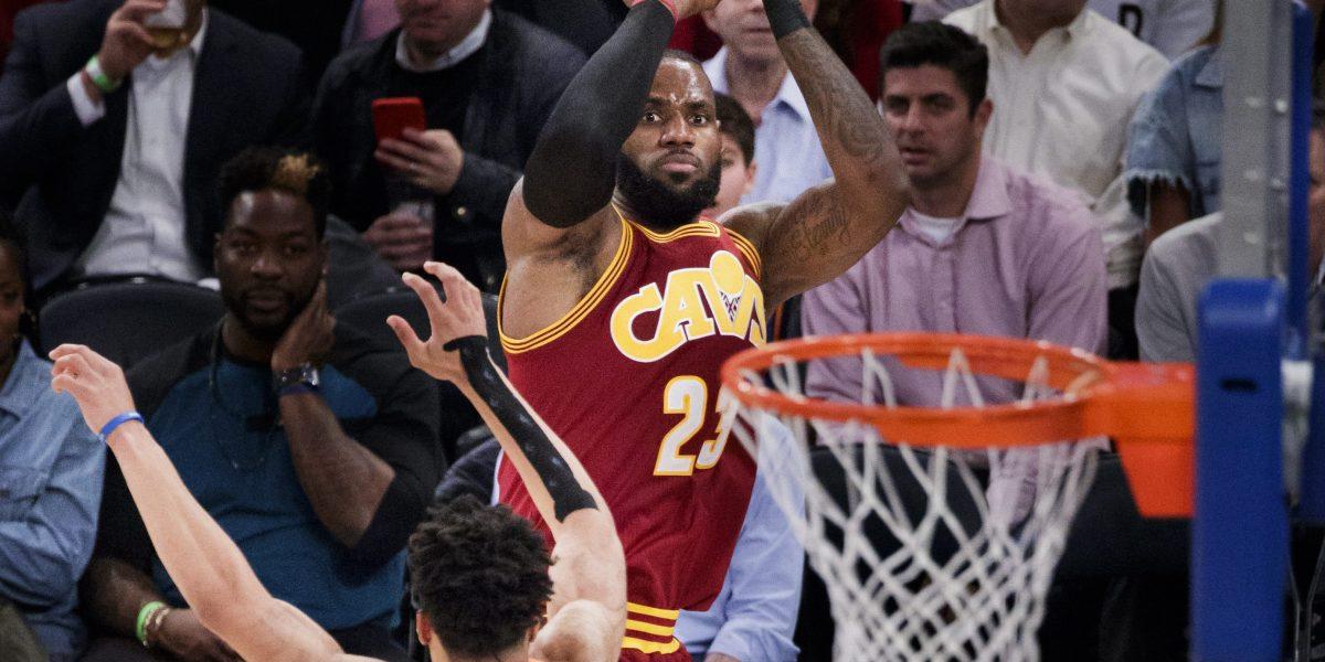 LeBron James logra nuevo registro personal en el triunfo de los Cavaliers