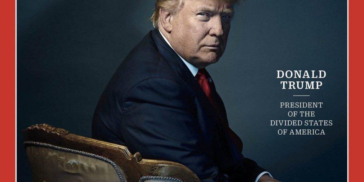 Polémica en las redes sociales por cuernitos de Trump