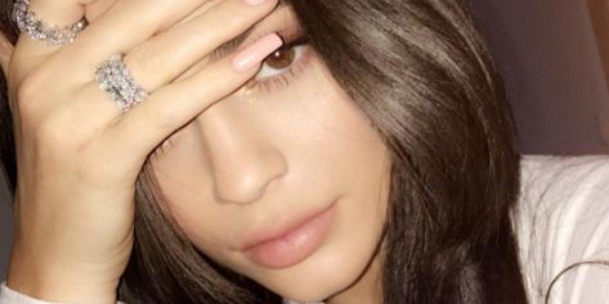 Kylie Jenner conoce a la hija de su hermano Rob y de Blac Chyna
