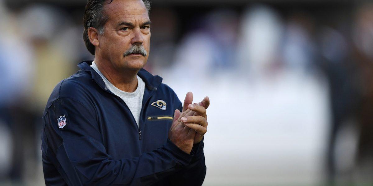 Rams despiden al dirigente Jeff Fisher