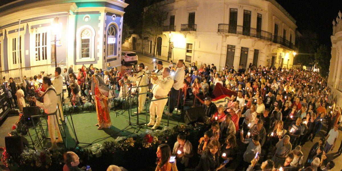 Reafirma Ponce su tradición en honor a la Virgen de la Guadalupe