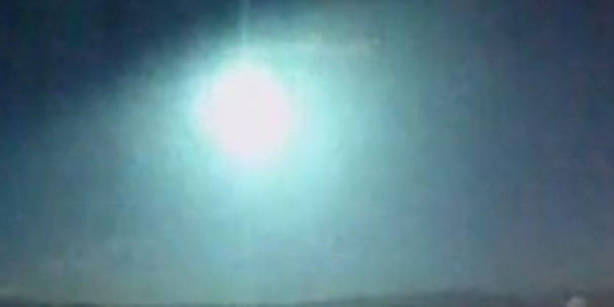 Avistan bola de fuego en cielos de España