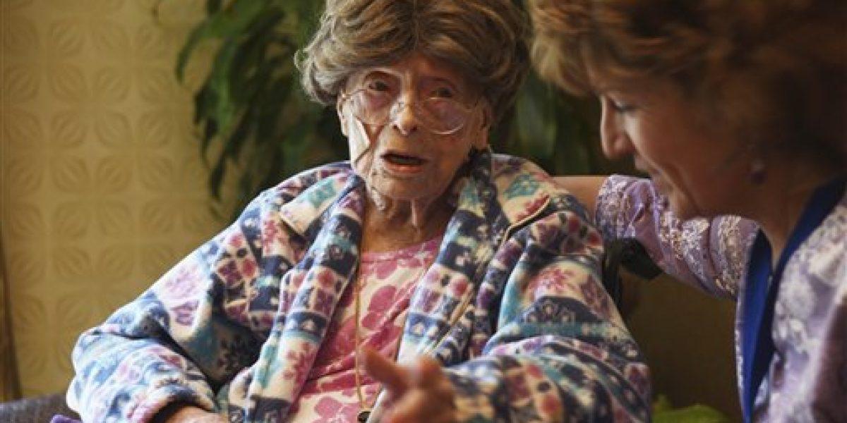 Una mujer, la persona más longeva de Estados Unidos